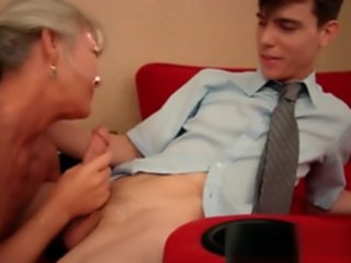 mom seduces stepson
