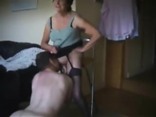 nasty-talking slut granny