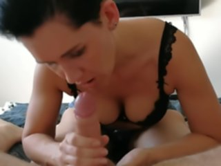cumming mom boobs