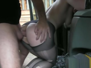 slut pantyhose throated